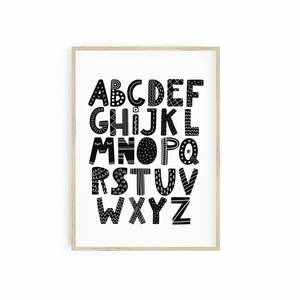 Monochrome Alphabet