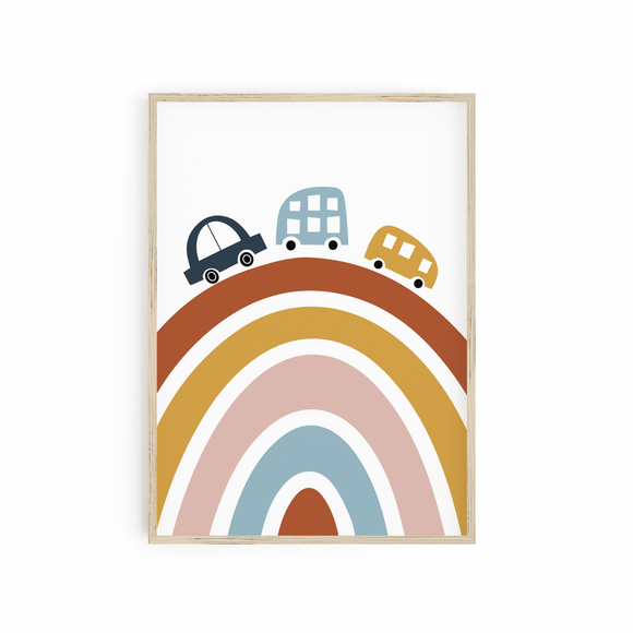 Cars on Rainbow - Neutral