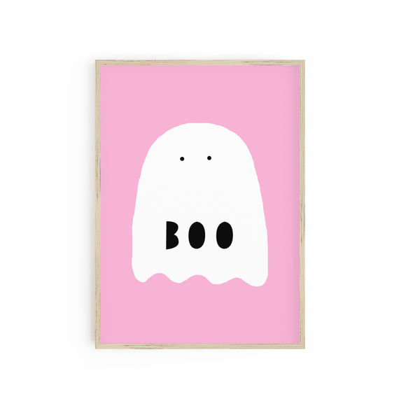 Pink Boo Ghost