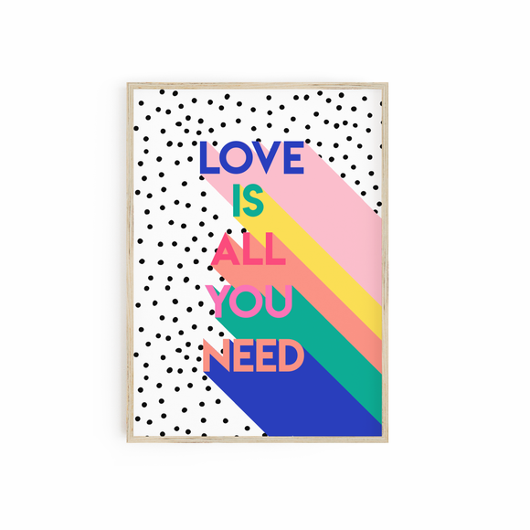 Love is all you need - Bright POP