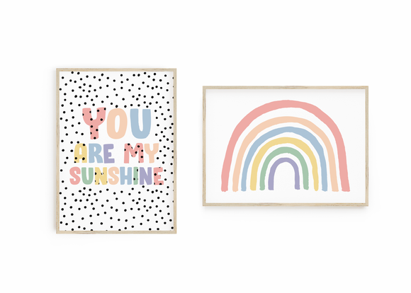 Pastel Rainbow // You are my Sunshine