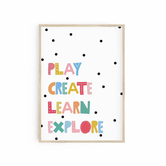 Play Create Learn Explore