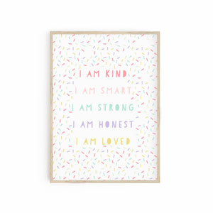 I am Kind - Positive Affirmations