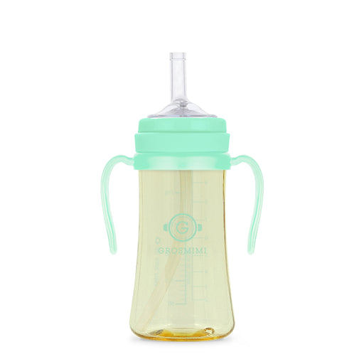 PPSU Straw Cup - 300ml (Aqua Green) / PPSU 吸管杯 - 300ml (淺綠色)