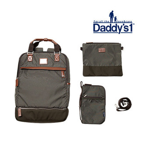 Daddy's 1  Diaper bag - Khaki <br> Daddy's 1 多功能育嬰袋(軍綠色)