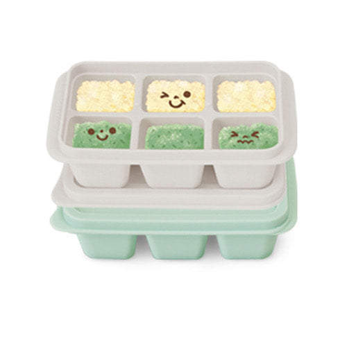Silicone Freezer Cubes (Mint & Gray) / 冷凍儲存方塊 (薄荷+灰色)