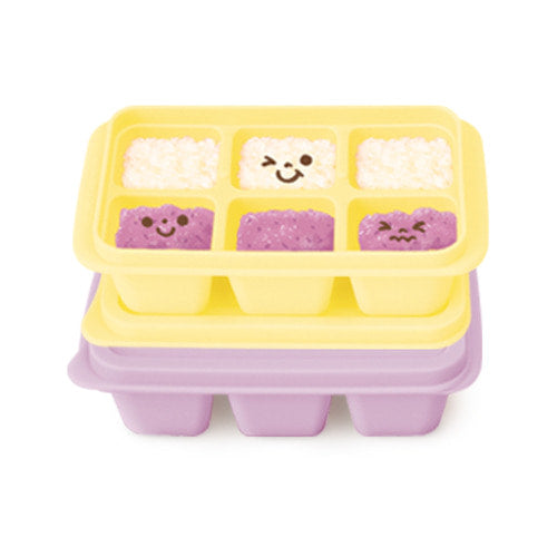 Silicone Freezer Cubes (Lavender & Yellow) / 冷凍儲存方塊(薰衣草色和黃色)