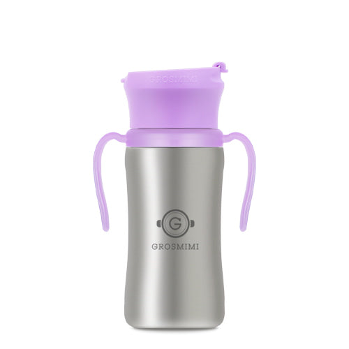 STAINLESS Tumbler - 300ml (Pure Lavender) / 不銹鋼學飲杯 - 300ml (薰衣草色)