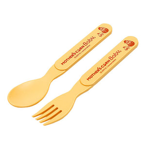 Step Up Spoon & Fork Set <br> 餵食叉匙套裝 (直匙及叉)