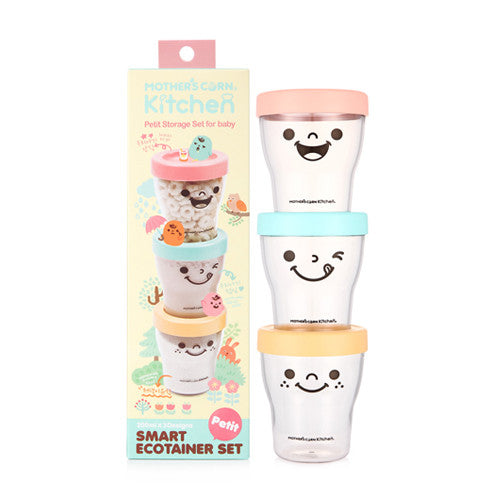 Petit Smart Ecotainer Set (3pcs) <br> 多功能食物儲存器 (3pcs)