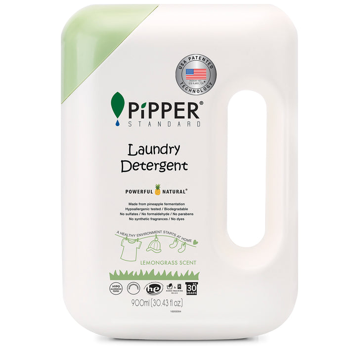 Laundry Detergent (900ml) - Lemongrass / PiPPER 沛柏 - 天然洗衣液 (香茅)