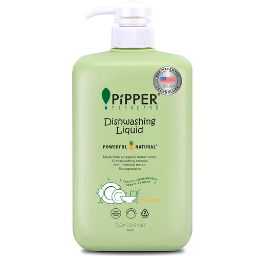 Dishwashing Liquid (900ml) - Citrus / PiPPER 沛柏 - 天然洗碗液 (柑橘)