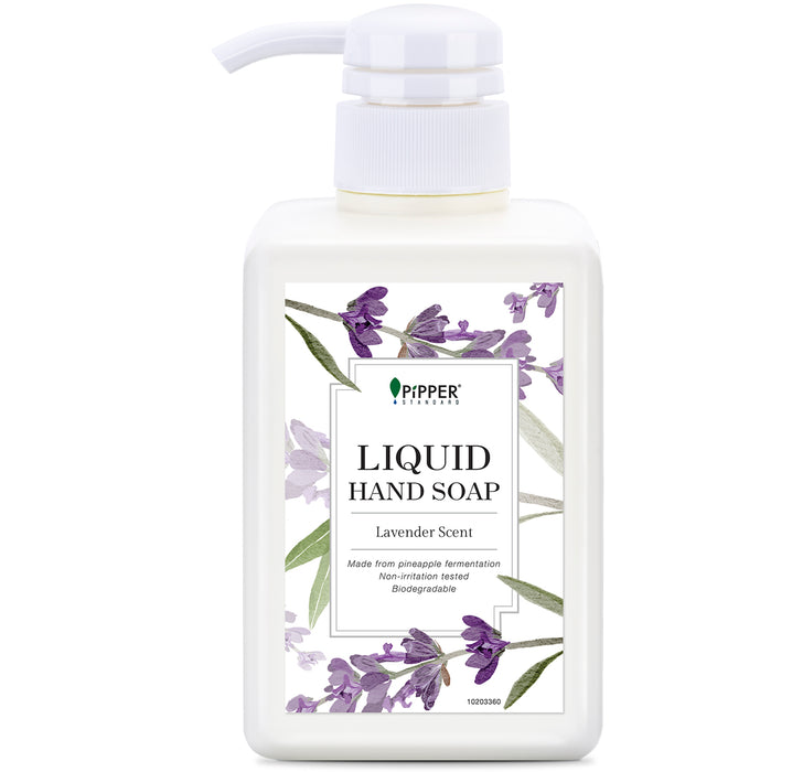 Liquid Hand Soap (350ml) - Lavender / PiPPER 沛柏 - 天然洗手液 (薰衣草)