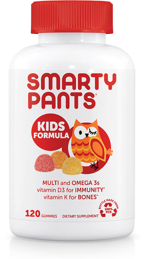 Kids Formula - Multi-Vitamins + Omega 3 (120 Gummies) / 兒童多元維他命Omega-3 DHA ‧ EPA 軟糖 (120粒)
