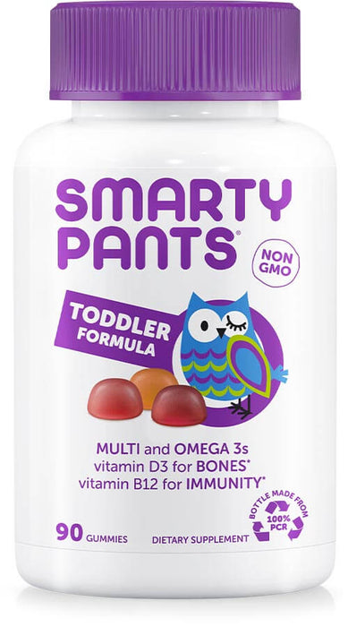 Toddler Formula - Multi-Vitamins + Omega 3 (90 Gummies) / 幼兒多元維他命Omega-3 DHA ‧ EPA 軟糖 (90粒)