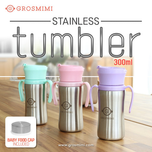 STAINLESS Tumbler - 300ml (Aqua Green)