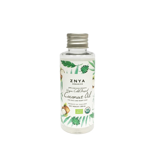 100% USDA Certified Organic Virgin Cold Pressed Coconut Oil / USDA 百分百有機初榨冷壓椰子油 (100ml)