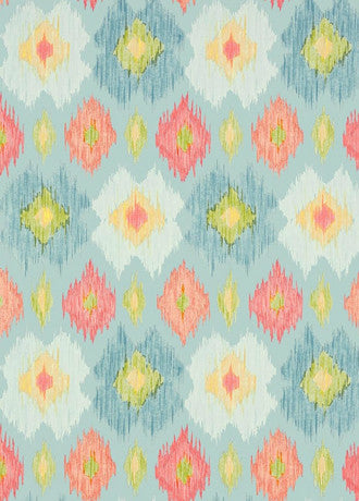 Bimini Ikat Wallpaper