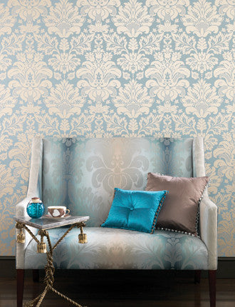 Campbell Damask Wallpaper