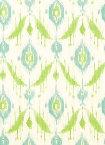 Island Ikat Wallpaper