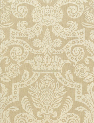 Harvard Damask Wallpaper
