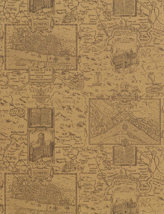 London Map Wallpaper