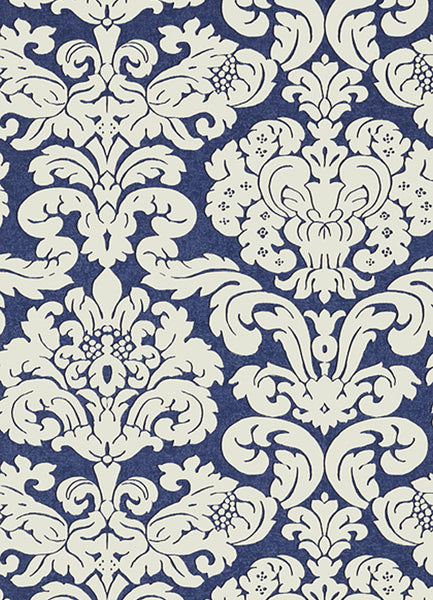 Trelawny Damask Wallpaper