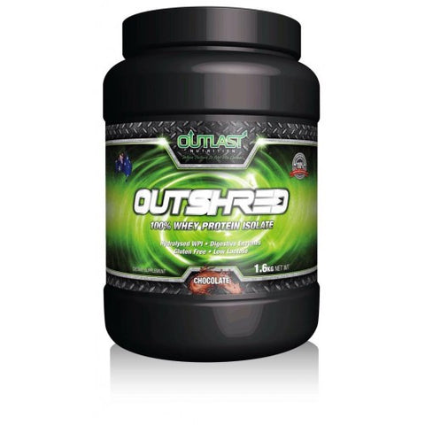 Outlast Supplements - Outshred Protein Powder (1.6kg)
