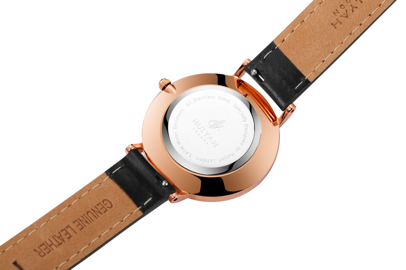 Black Rose Gold  C2 Leather