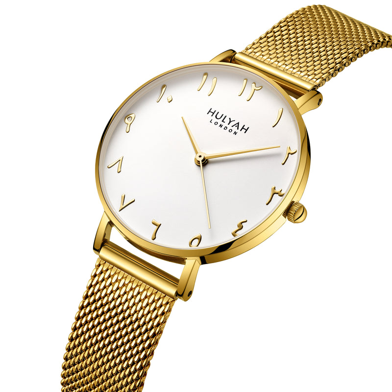 Golden with White Dial C20