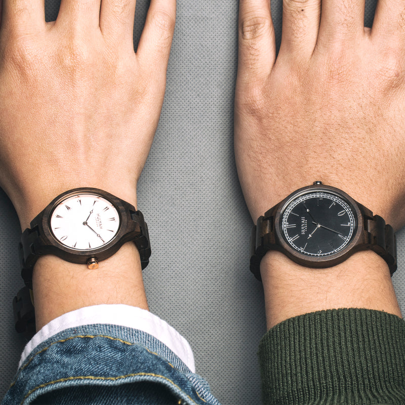 Couple Wooden Watches (SALE) N04  (2 watches)