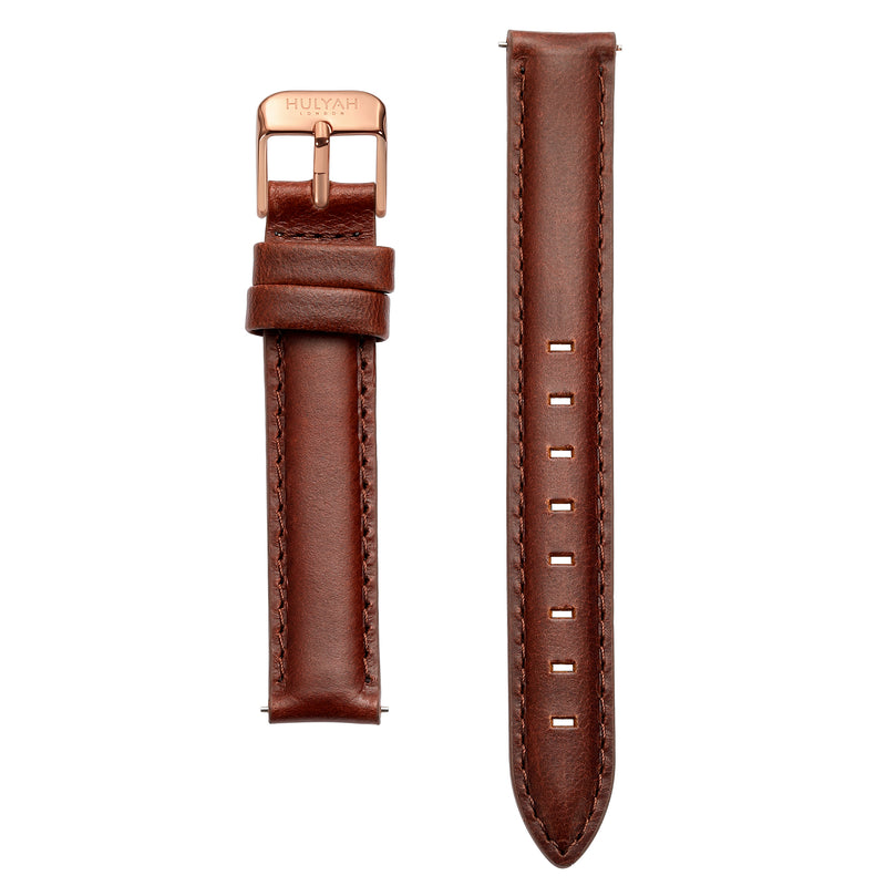 Classy Leather Bands for Rosegold Case