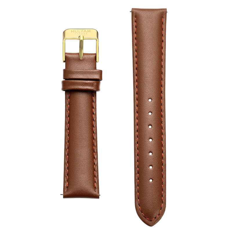 Classy Leather Bands for Gold Case