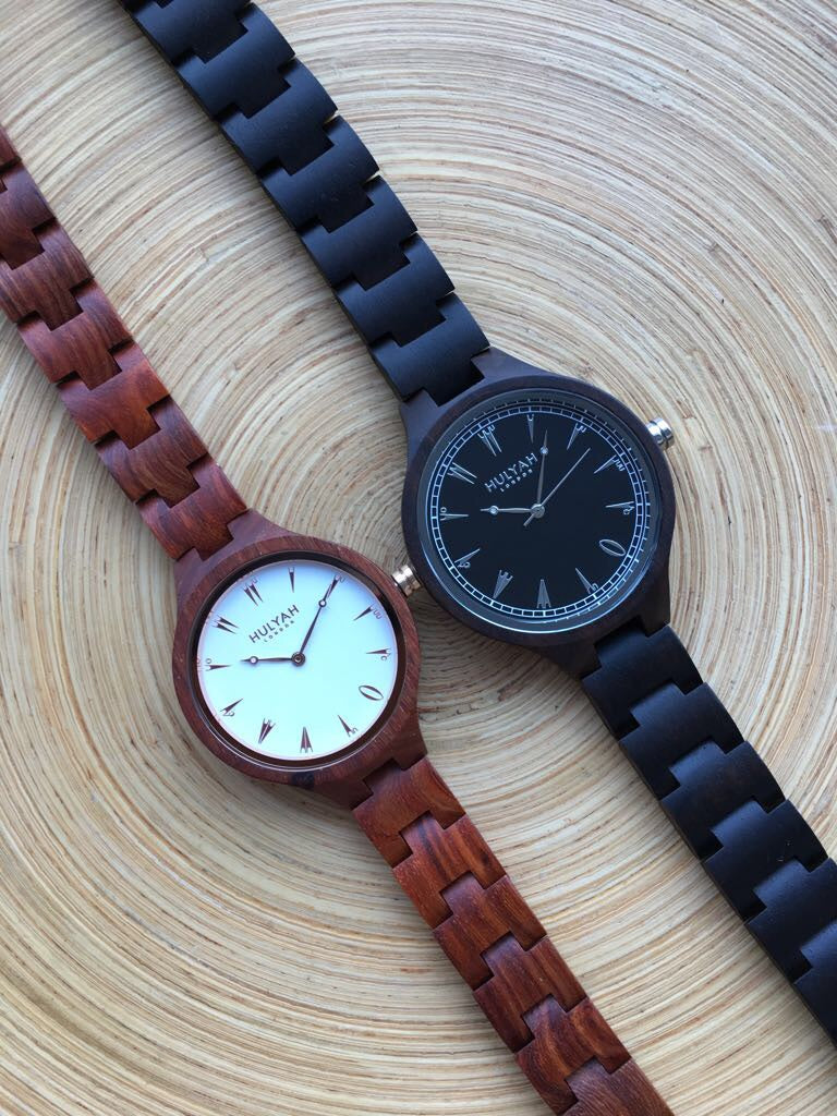 Couple Wooden Watches (SALE) N05  (2 watches)