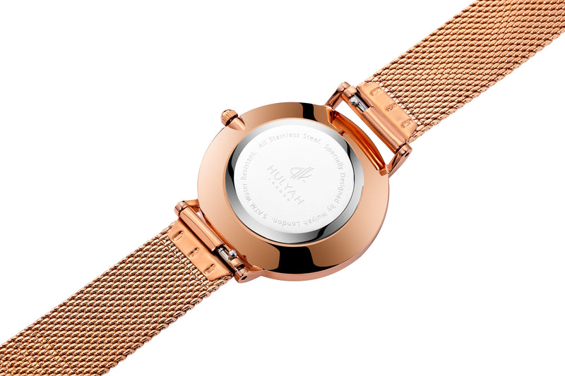 Rosegold-Rose C12 Arabic Watch