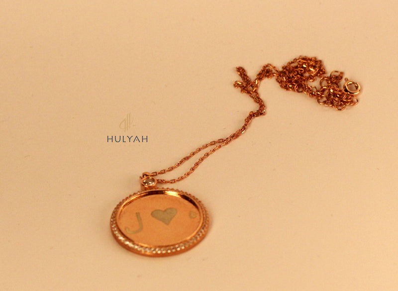 Al Hambra Engravable Personalised Arabic NECKLACE Jewellery