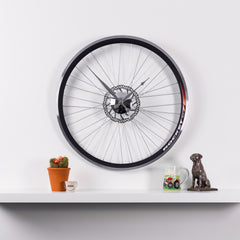 RACING BIKE WHEEL CLOCK with BRAKE DISC  Size - 22.5 inch