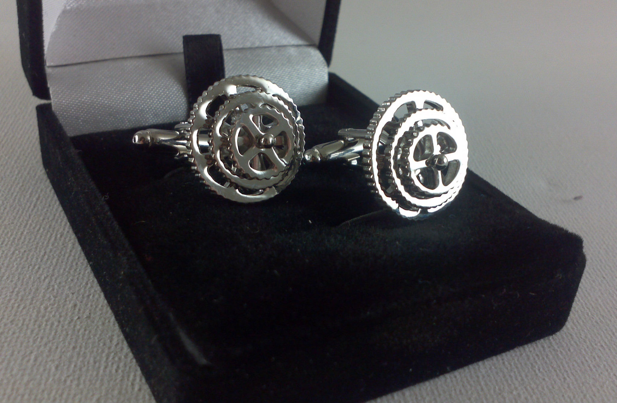 Bike Chainset/Sprocket Cufflinks