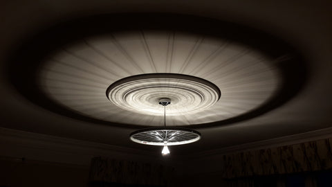 Bike Wheel Ceiling Light