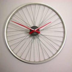 Bike wheel clock 23 inch with Karlsson Mechanism