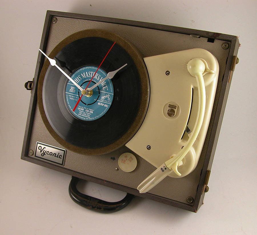 Phillips portable clock