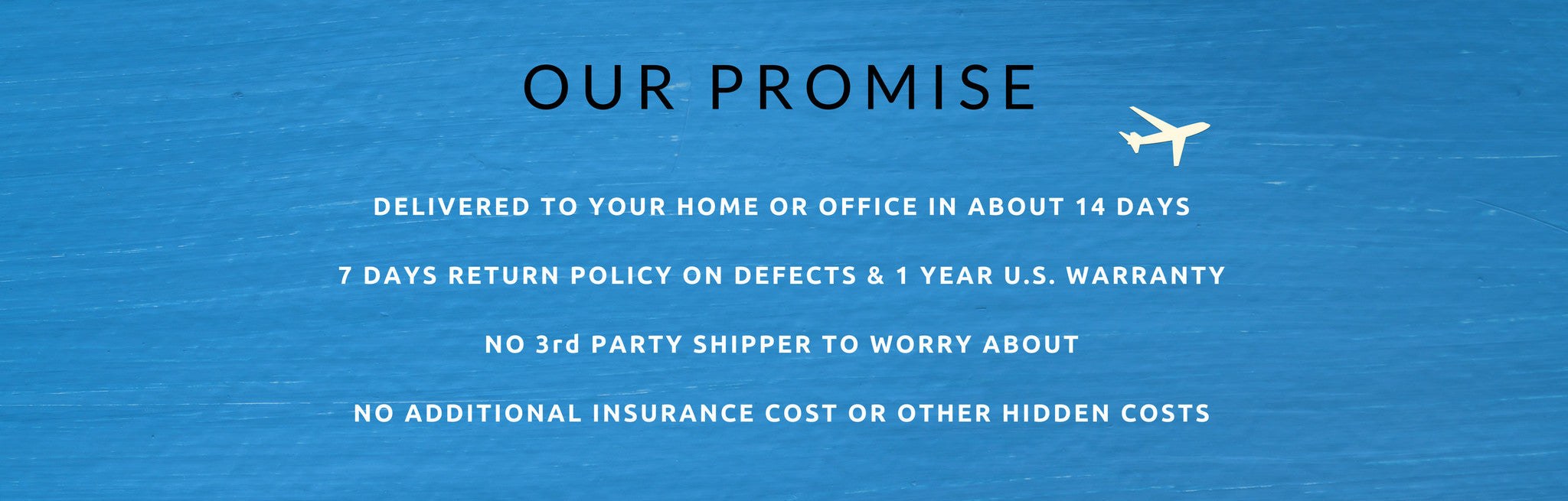 Our Promise HK Deal N Ship