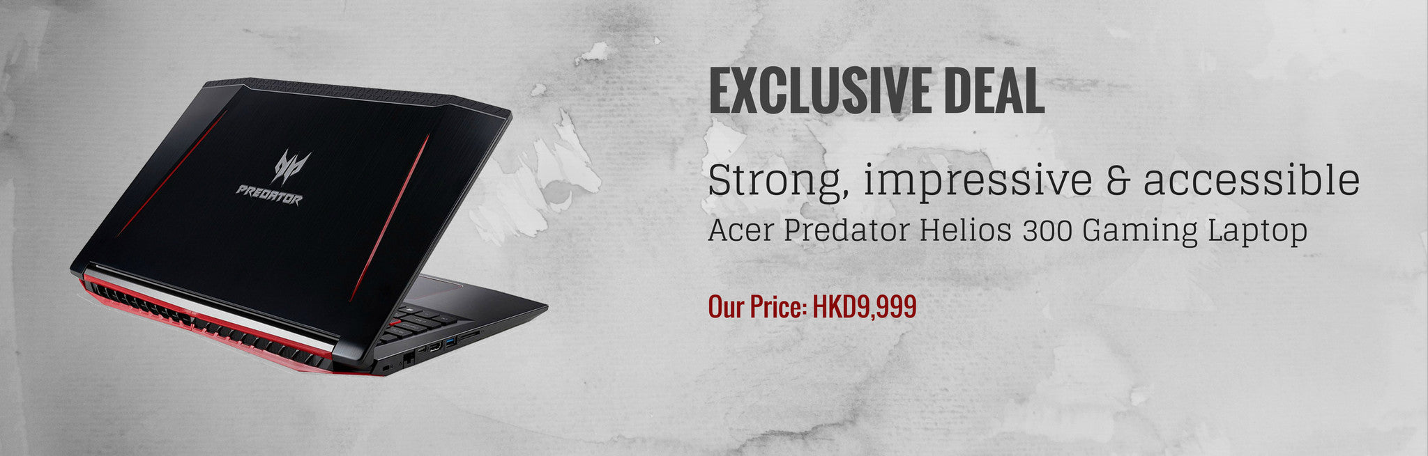 Deal N Ship HK slideshow-Acer Predator Helios 300 Gaming Laptop