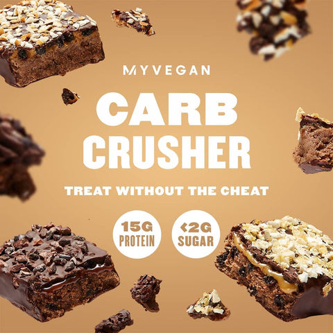 MyVegan Carb Crusher Bars now available at Posted Protein