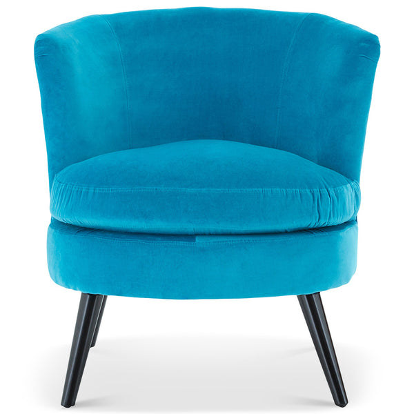 Teal Cocktail Chair