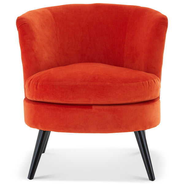 Orange Cocktail Chair