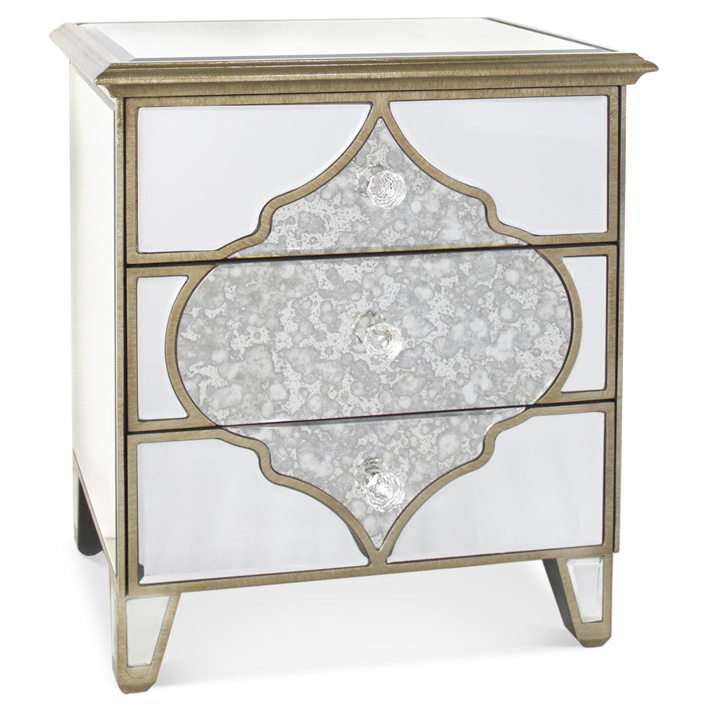 Morrocan Bedside Drawers