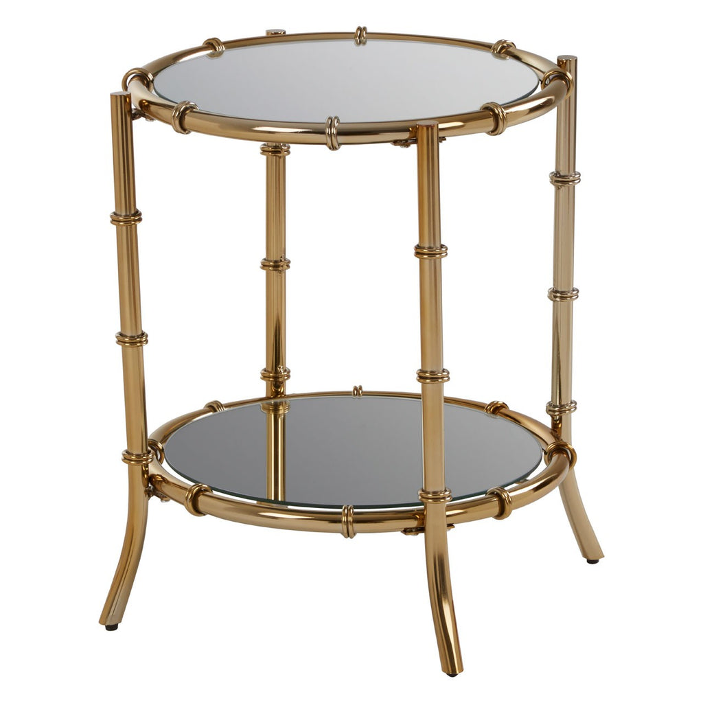 Bamboo style side table