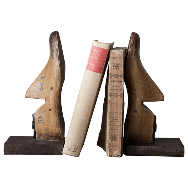 Cobbler's Shoe Mould Bookends