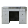 White and Silver Dressing Table
